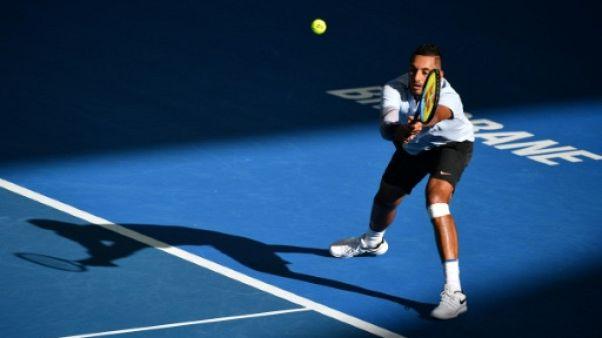 Tennis: Kyrgios, tout en maîtrise, contre Harrison en finale à Brisbane