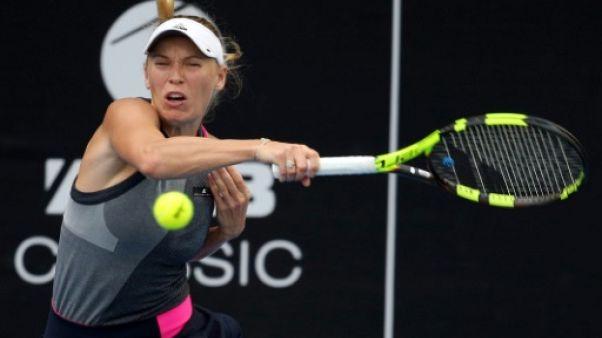 Tennis: Wozniacki obtient de haute lutte le droit d'affronter Görges en finale à Auckland