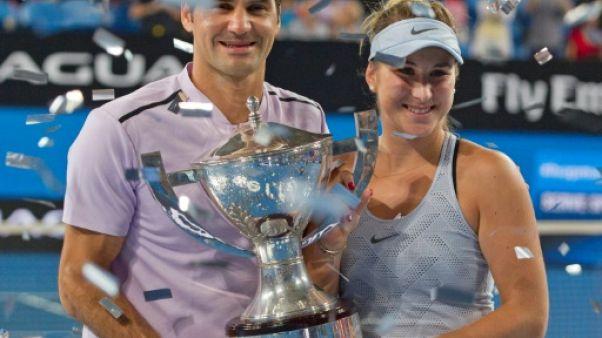Tennis: la Suisse de Federer remporte la Hopman Cup