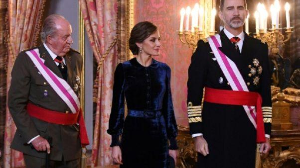 Le roi Felipe rend hommage à son père au lendemain de ses 80 ans