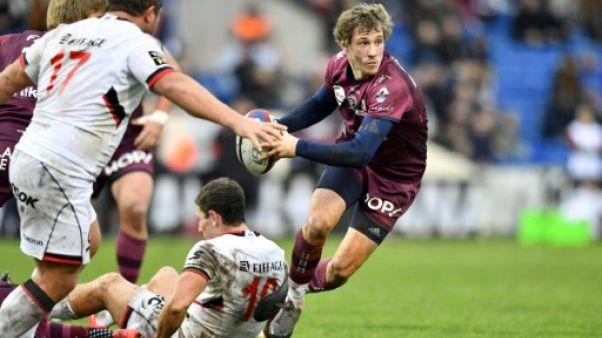 Top 14: Bordeaux baptise Teague par une victoire face à Lyon