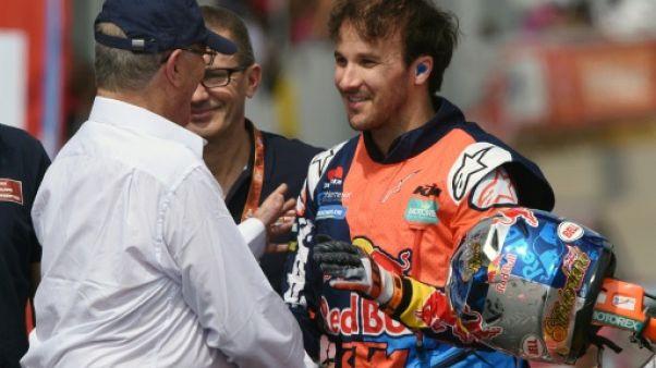 Dakar-2018: Sunderland (KTM), tenant du titre, remporte la 1re spéciale en moto
