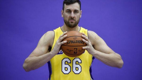 NBA: les Lakers libérent l'Australien Andrew Bogut