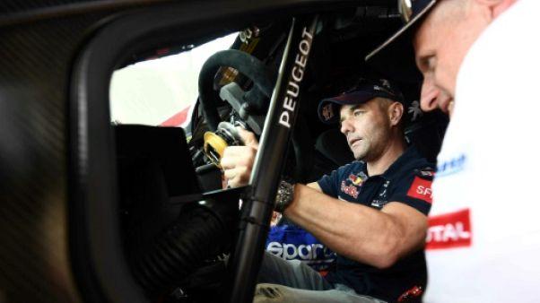 Dakar-2018: faux départ de Loeb, sans freins