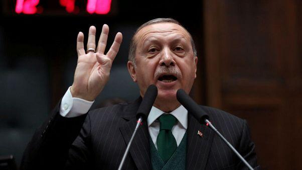 Turkey's Erdogan calls on United States to step back from Jerusalem move