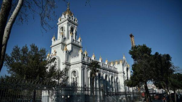 """Réouverture de l'""""église de fer"""" bulgare orthodoxe d'Istanbul, clin d'oeil aux minorités"""