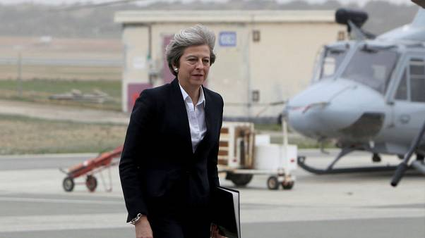 May tells troops in Cyprus that Islamic 'caliphate' crushed