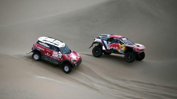 Dakar-2018: Despres sonne le réveil de Peugeot
