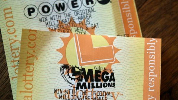Deux Américains gagnent plus d'un milliard de dollars à la loterie