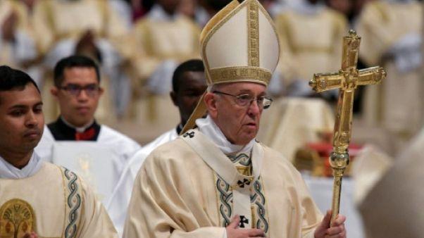 Le pape espère un rapatriement en Syrie des réfugiés des pays limitrophes
