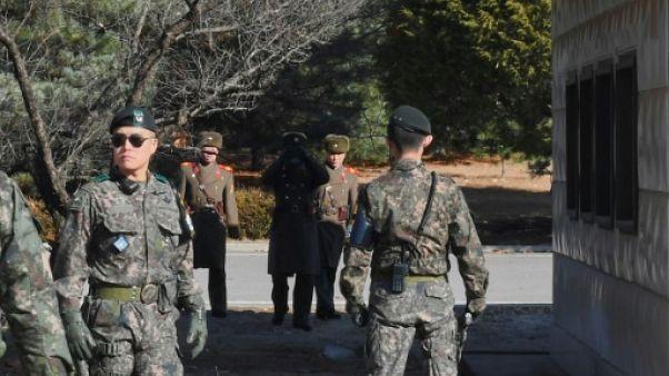 Panmunjom, rendez-vous des soldats et négociateurs coréens