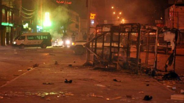 Un mort en Tunisie en marge de heurts nocturnes