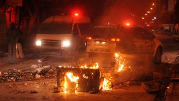 Tunisie: un mort en marge de heurts nocturnes