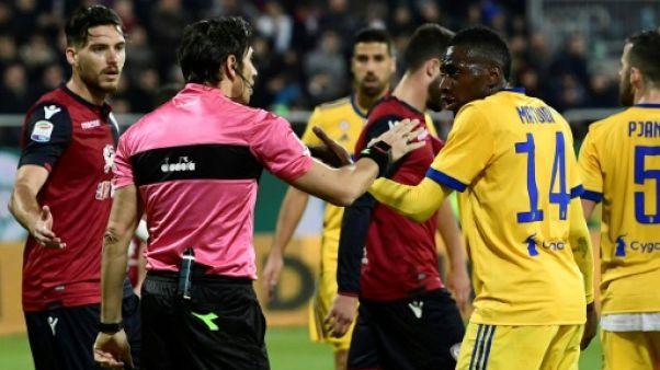 Italie: Cagliari échappe à une sanction pour les insultes envers Matuidi