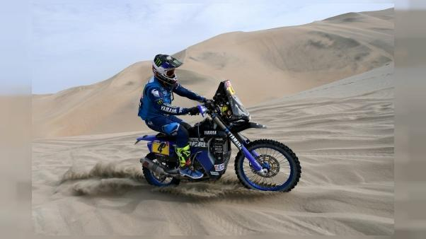 Dakar: victoire d'Adrien van Beveren sur sa Yamaha, Sunderland abandonne