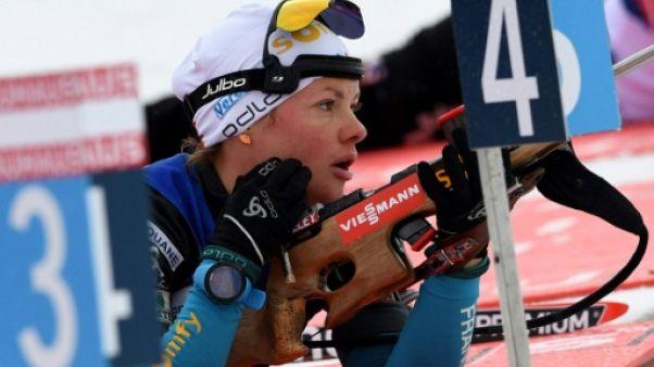 Biathlon: Dorin-Habert envisage d'arrêter en fin de saison mais est motivée pour les JO