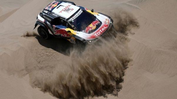 Dakar: Loeb dompte le désert