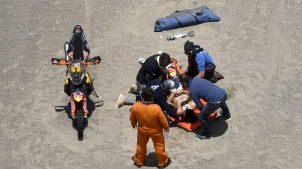 Dakar: le motard Sam Sunderland évacué vers Lima