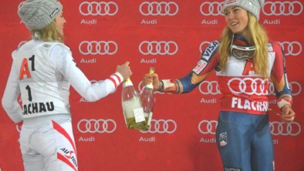 Ski: Mikaela Shiffrin en mode avion à réaction mais toujours inaccessible