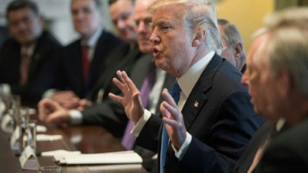 Donald Trump s'affiche en négociateur en chef sur l'immigration