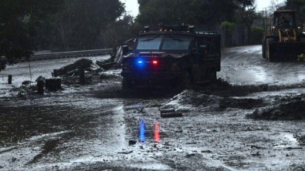 Californie: au moins 13 morts dans des coulées de boue