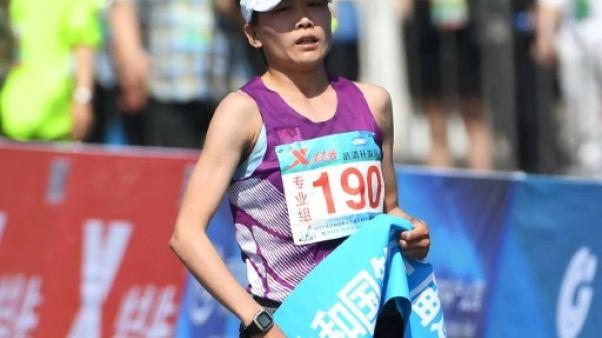 Dopage: la marathonienne chinoise Wang Jiali suspendue huit ans