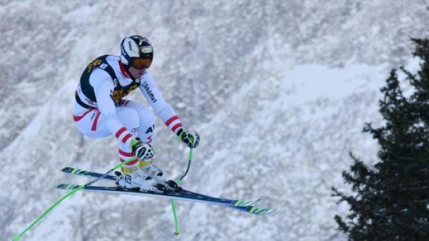 Ski: Reichelt le plus rapide du 1er entraînement pour la descente de Wengen