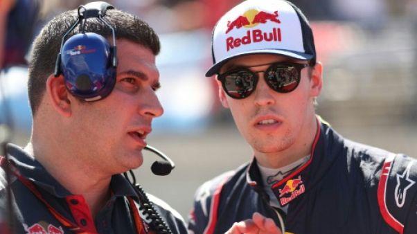 F1: Daniil Kvyat rejoint Ferrari comme pilote de développement