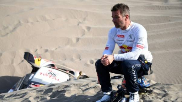 Dakar: Loeb stoppé net par le désert