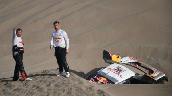 """Dakar: pour Sébastien Loeb, """"forcément, on n'est pas contents"""""""
