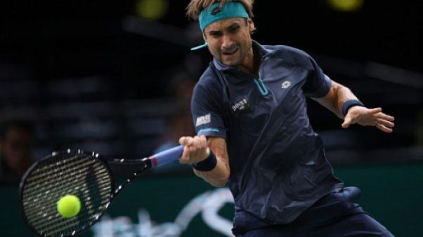 Tennis: Ferrer le véteran en demi-finale face à Del Potro à Auckland