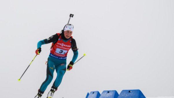 Biathlon: Justine Braisaz forfait pour l'individuel de Ruhpolding