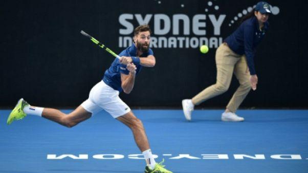 Tennis: Benoît Paire se qualifie pour les demi-finales à Sydney