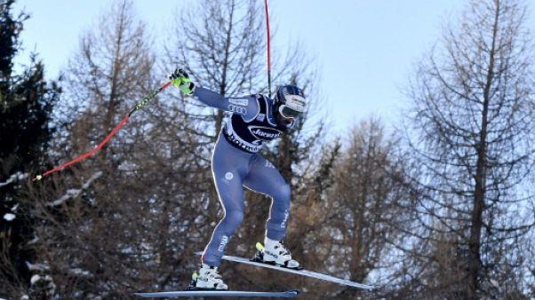 Ski: Théaux devant au second entraînement de la descente de Wengen