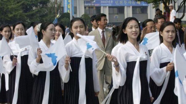JO-2018: les pom-pom girls, stars attendues de la délégation nord-coréenne