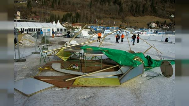Ski: premier entraînement de la descente dames annulé à Bad Kleinkirchheim