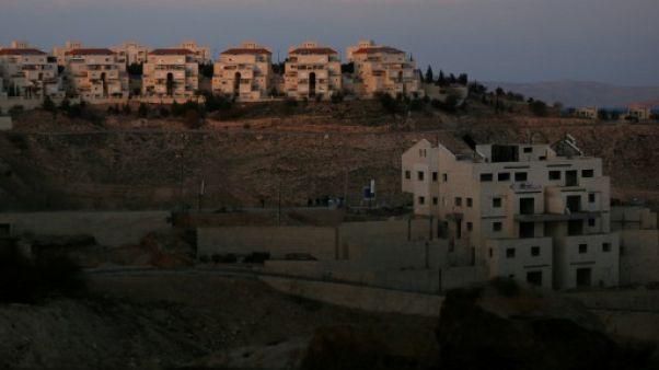 Israël approuve plus de 1.100 nouveaux logements de colons en Cisjordanie