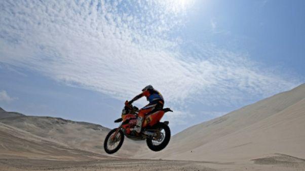 Dakar: Meo remporte la 6e étape, Benavides prend la tête
