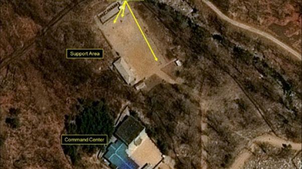 Corée du Nord: regain d'activité sur un site d'essais nucléaires