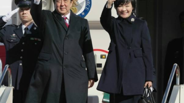 Le Premier ministre japonais en tournée en Europe centrale