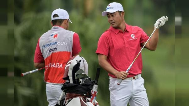 EurAsia Cup de golf: l'Asie mène 3,5 points à 2,5 face à l'Europe
