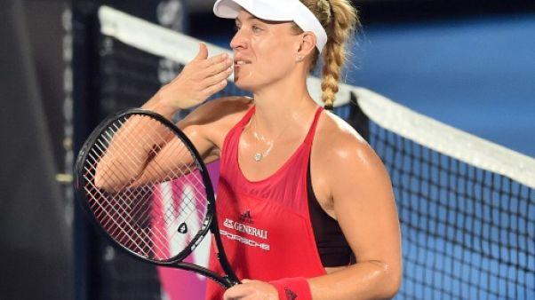 Tennis: Kerber affrontera Barty en finale à Sydney