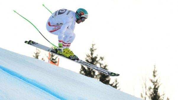 Ski: Kriechmayr en tête après la descente du combiné de Wengen