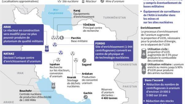 L'accord sur le nucléaire iranien à nouveau suspendu à la décision de Trump