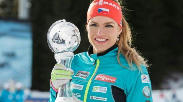 JO-2018: la biathlète tchèque  Koukalova, médaillée d'argent, forfait
