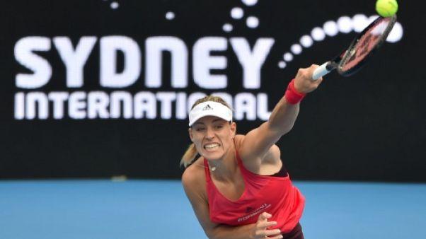Tennis: Kerber retrouve le goût de la victoire à Sydeny