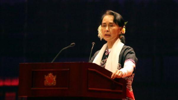 Rohingyas: Aung San Suu Kyi salue l'admission de responsabilité par l'armée