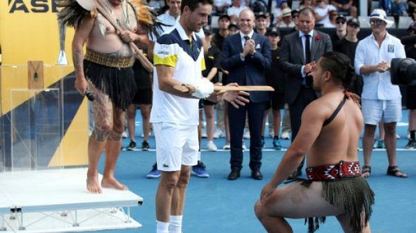 Tennis: Bautista fait le plein de confiance à Auckland avant l'Open d'Australie