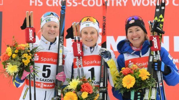 Ski de fond: Nilsson tombe, Falk remporte le sprint de Dresde