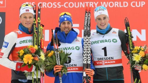 Ski de fond: Pellegrino vainqueur du sprint de Dresde, Chavanat 3e